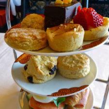 Afternoon tea at the Eurodam
