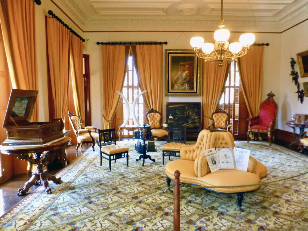 yellow room, Iolani Palace, Honolulu, Hawaii