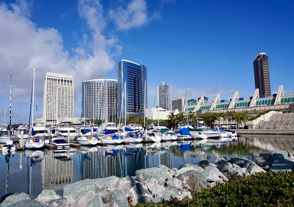 Marriott Marquis, marina and San Diego Convention Center