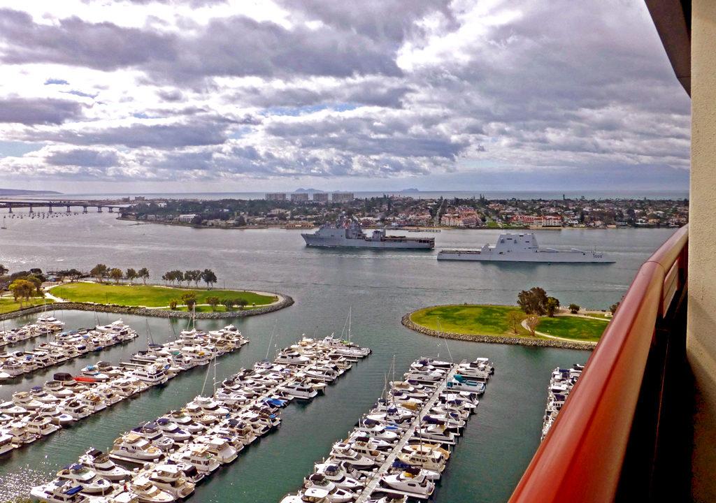 Naval ships, San Diego Bay