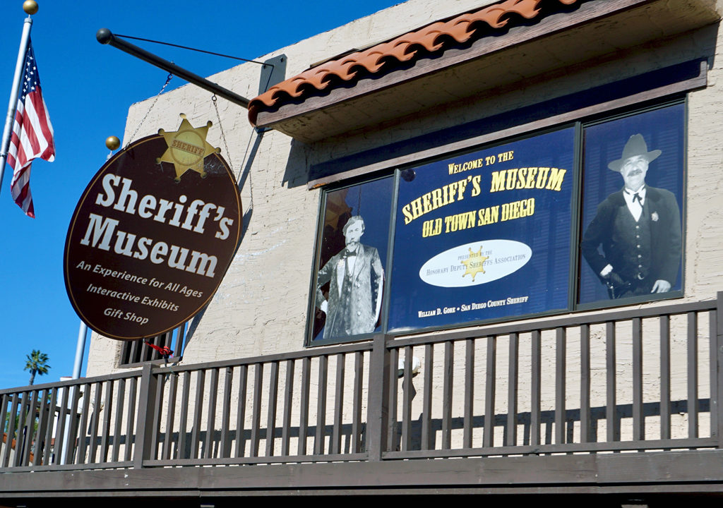 Sheriff's Museum, Old Town, San Diego, California
