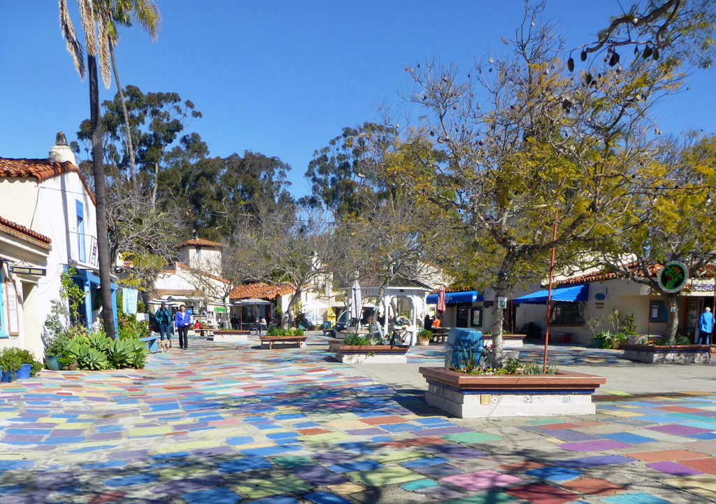 Spanish Village, Balboa Park