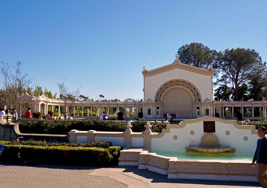 Spreckles Organ Pavilion,Balboa Park, San Diego, California