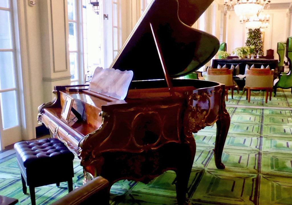 Steinway piano, St. Anthony Hotel