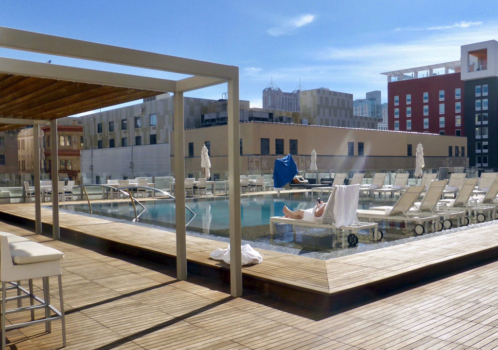 rooftop pool, St. Anthony Hotel, San Antonio, Texas