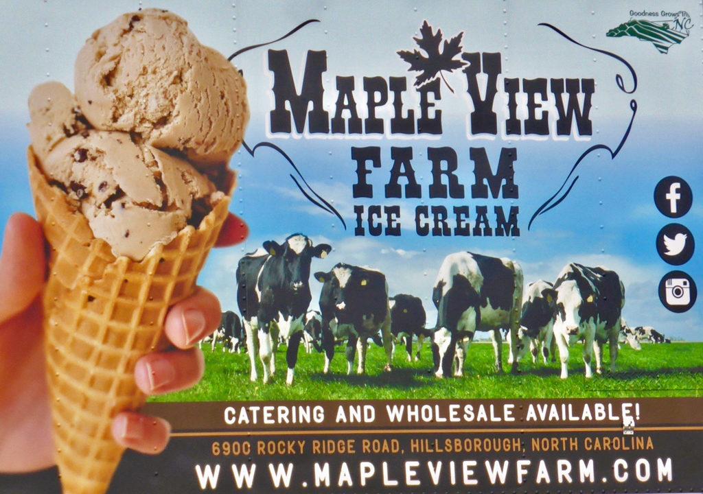 Maple View Farm Ice Cream, Chapel Hill, NC