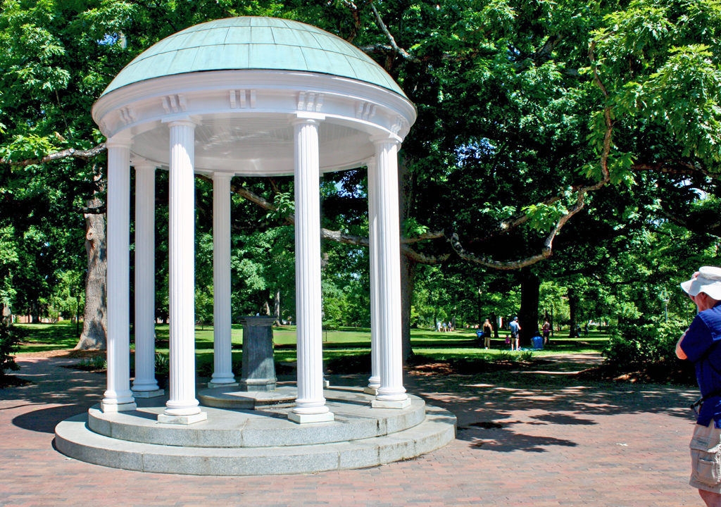 Old Well, symbol of UNC, Chapel Hill, NC