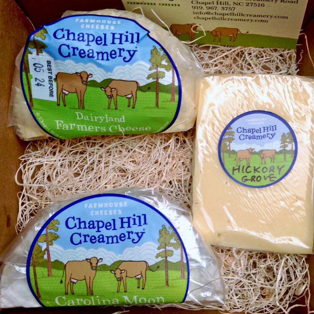 Chapel Hill Creamery cheese, Chapel Hill, NC