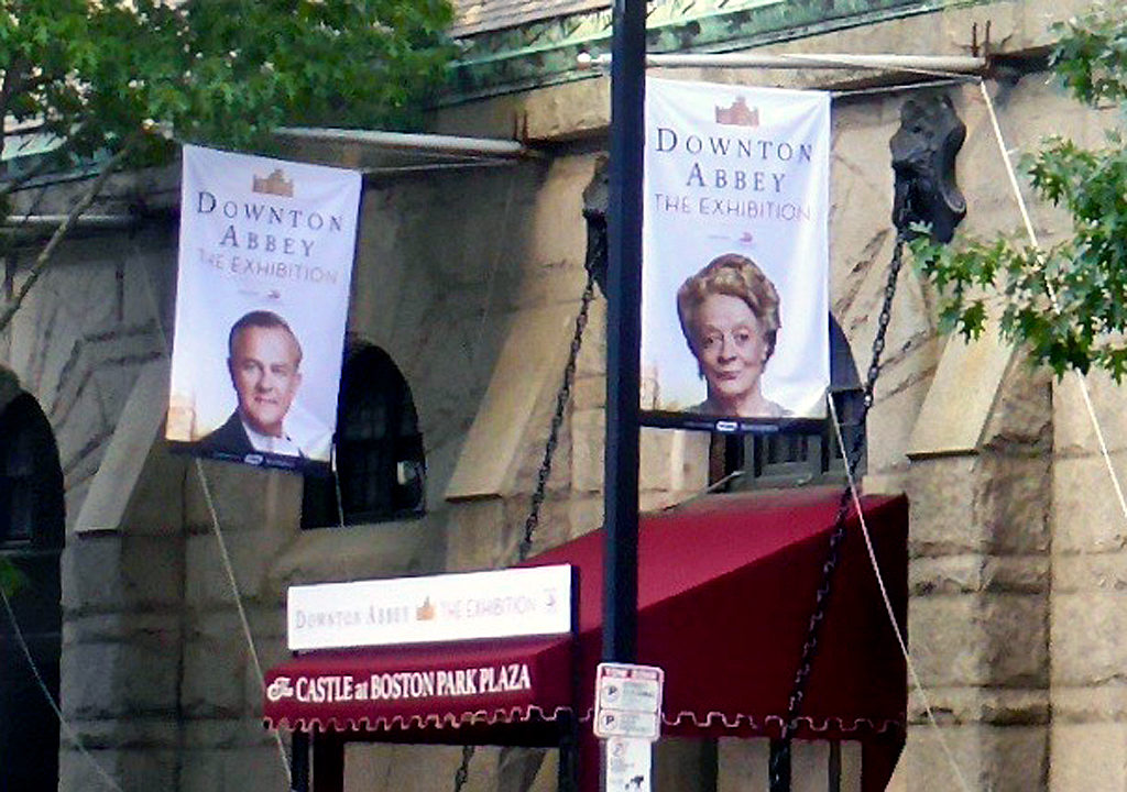 Downton Abbey: The Exhibition at The Castle at Park Plaza, Boston