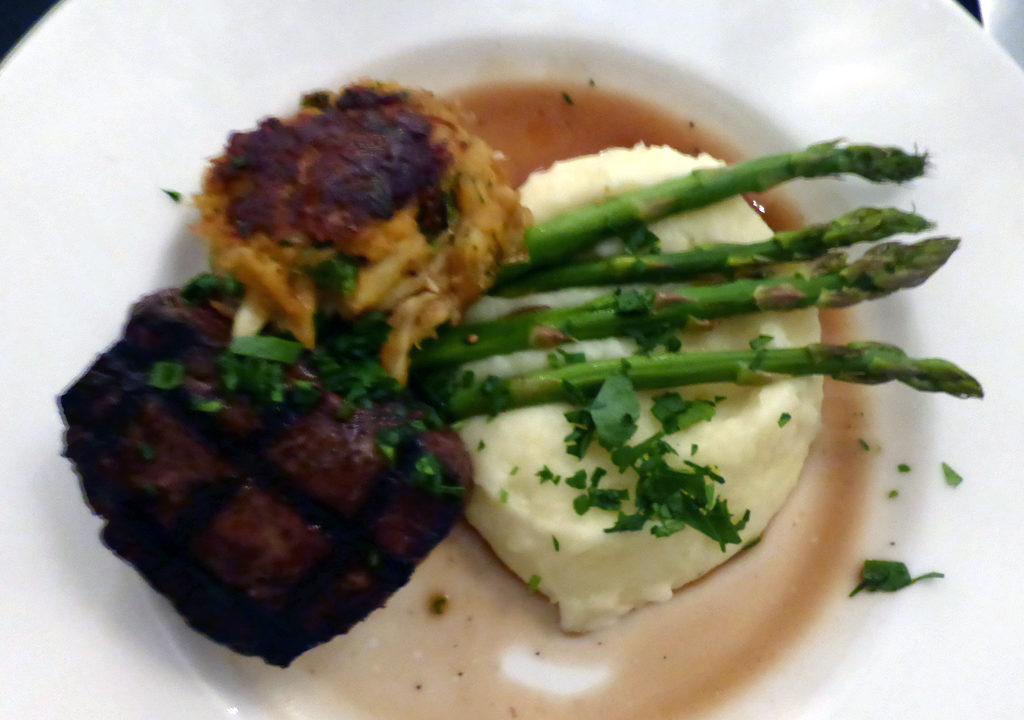filet mignon, Crossroads Restaurant, Chapel Hill, NC
