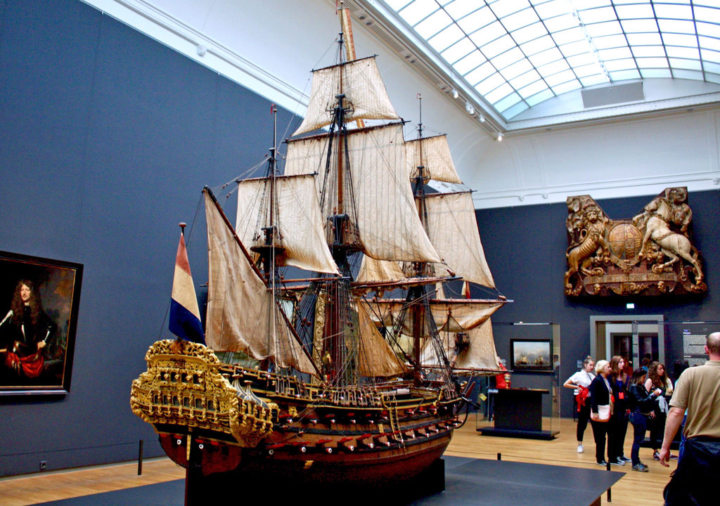 Model of the William Rex_Rijksmuseum_Amsterdam