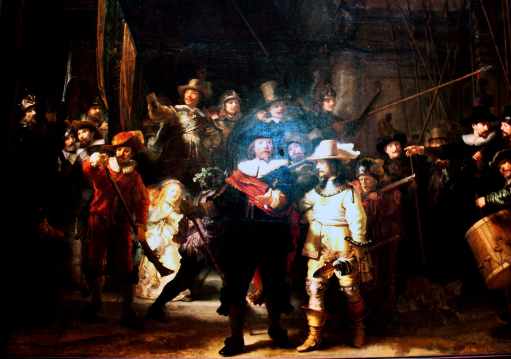 Rembrandt's Night Watch, Rijksmuseum