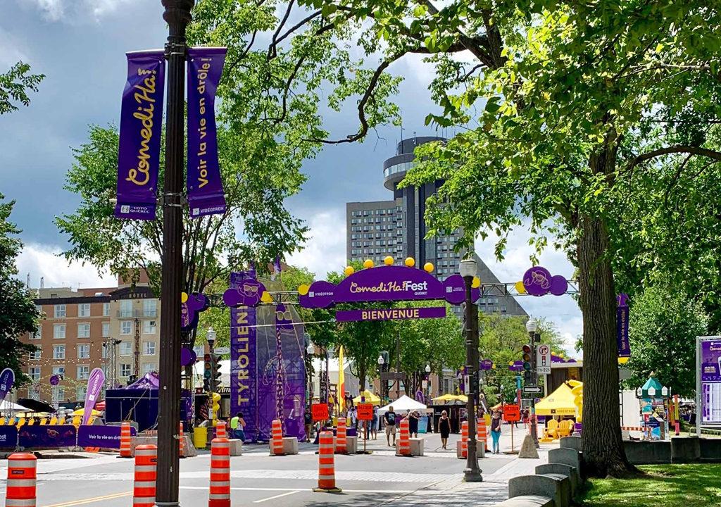 Comedy Festival, Quebec City