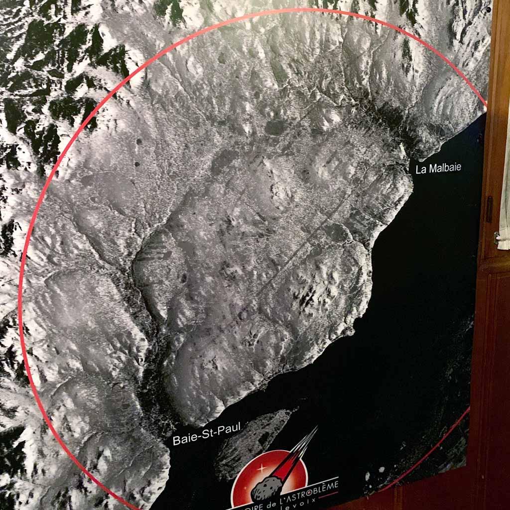L'Observatoire de l' Astroblème de Charlevoix, La Malbaie, Charlevoix