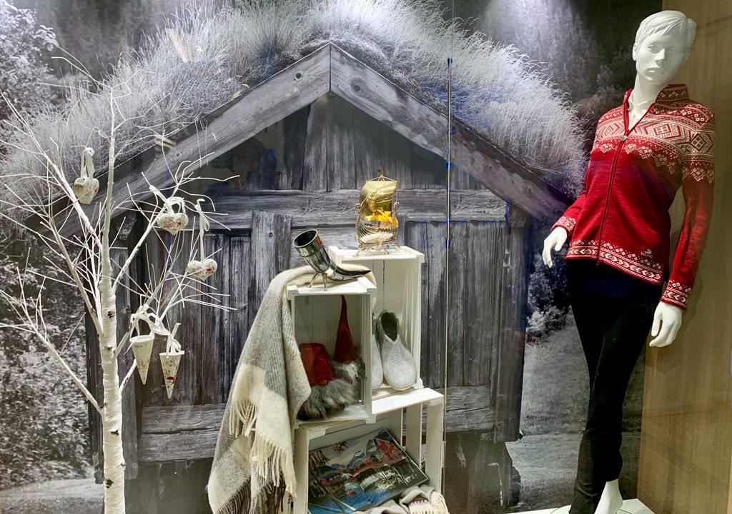 gift shop display window, Viking Jupiter
