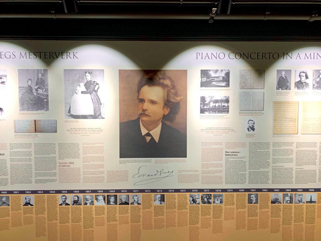 Edvard Grieg exhibit, Opus XVI, Bergen, Norway