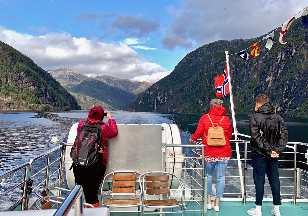 Rødne Fjord cruise, Bergen, Norway