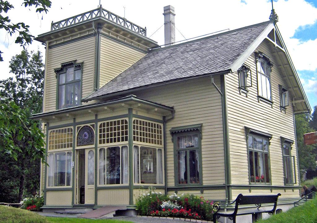 Grieg house Troldhaugen, Bergen, Norway