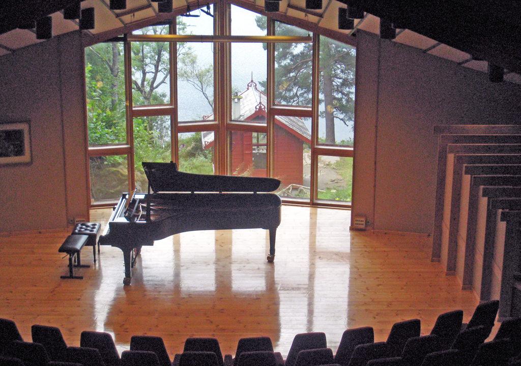 Grieg Concert Hall at Troldhaugen