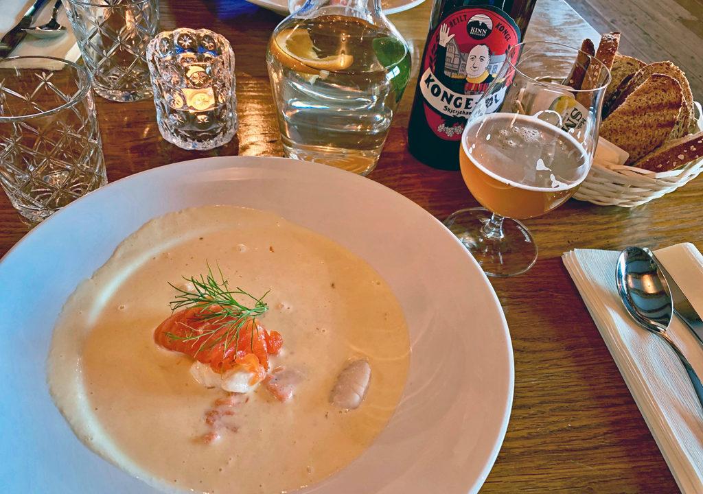 seafood chowder, Skjerjehamn