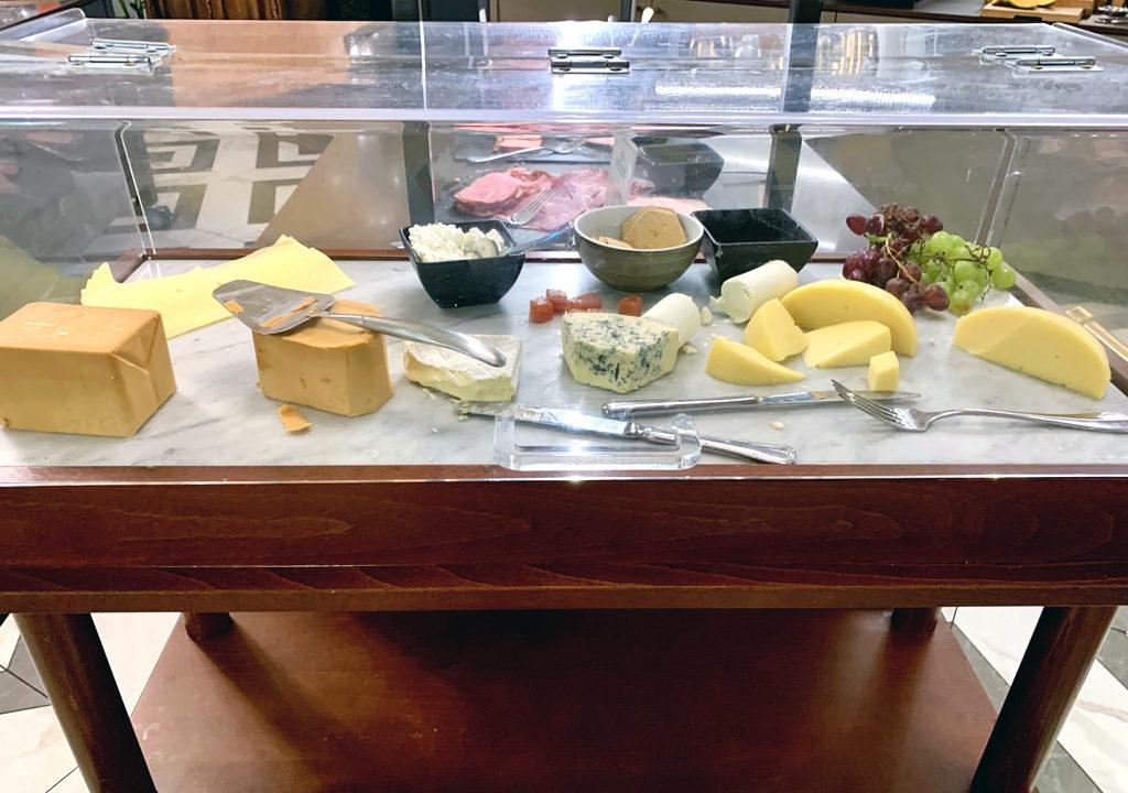 cheeses, breakfast, Opus XVI, Bergen, Norway