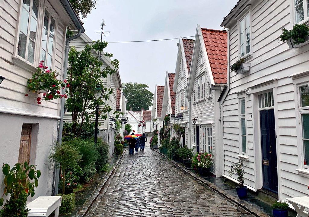 historic homes in Stavanher, Norway