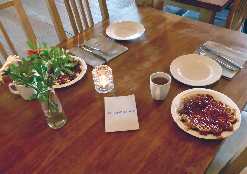 waffles, Skjerjehamn