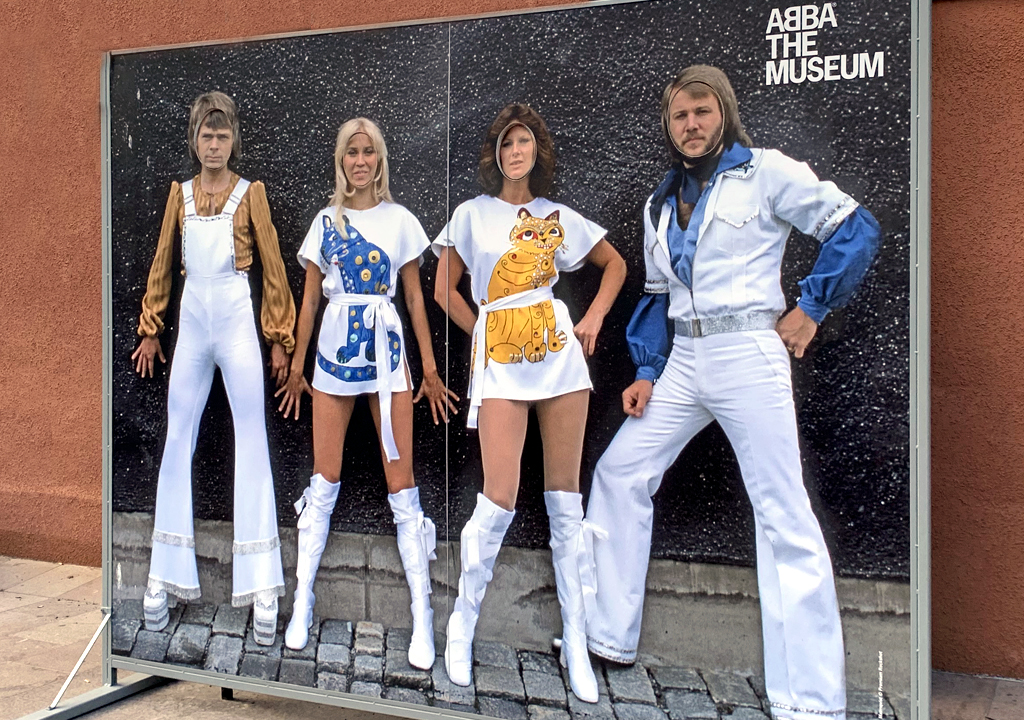 ABBA at the ABBA Museum, Stockholm, Sweden