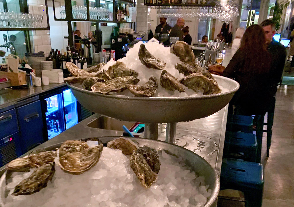 oysters at B.A.R., Stockholm
