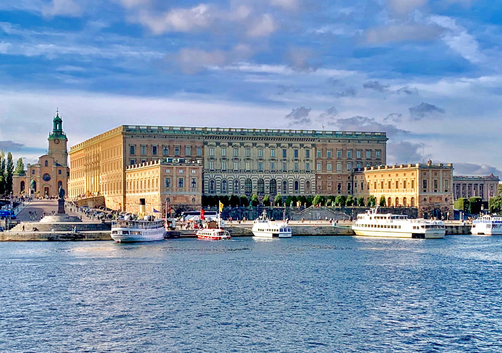 Royal Palace and Cathedral, Stockholm, Sweden