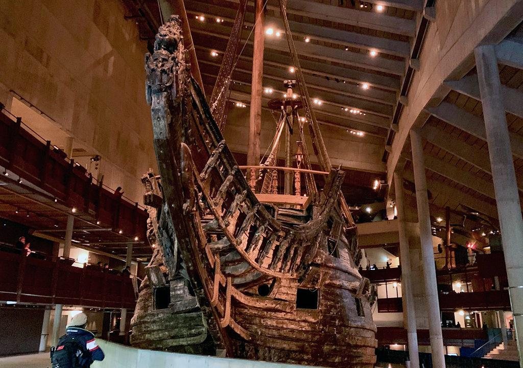 Vasa ship, Vasa Museum, Stockholm, Sweden