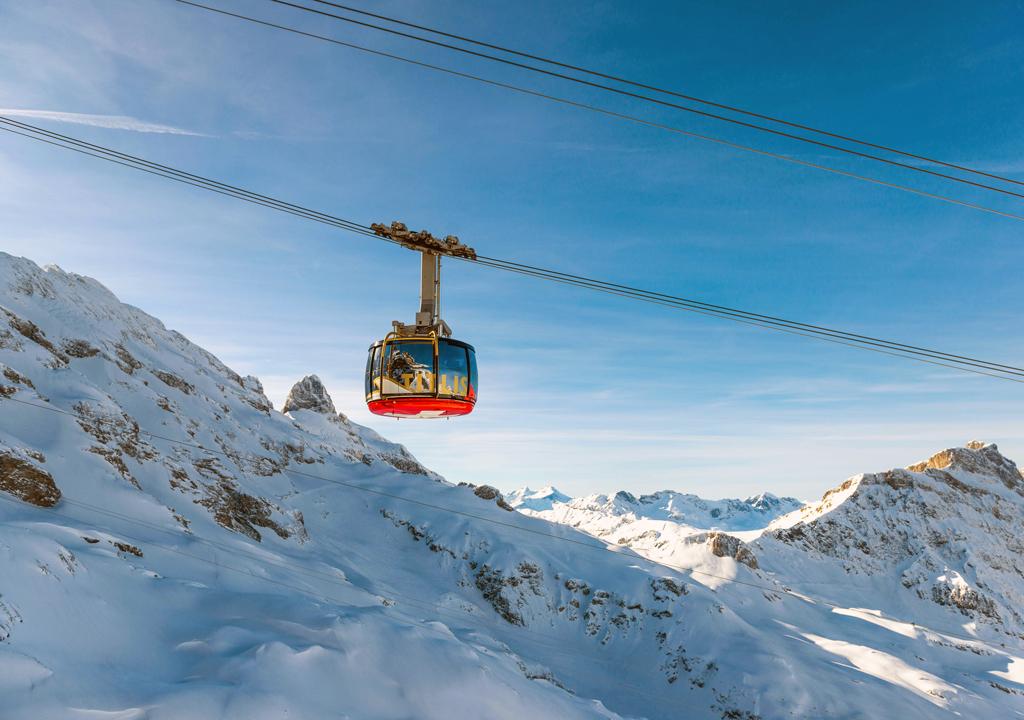 TITLIS Rotair, Photo copyright Switzerland Tourism