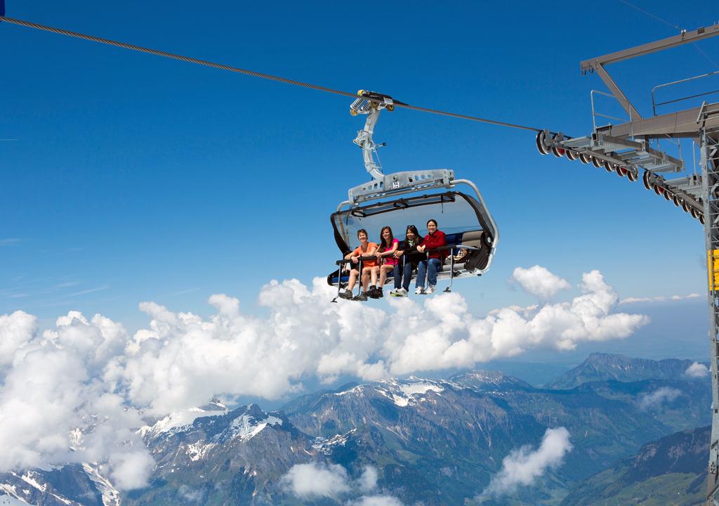 Ice Flyer, Central Switzerland. Photo copyright Switzerland Tourism
