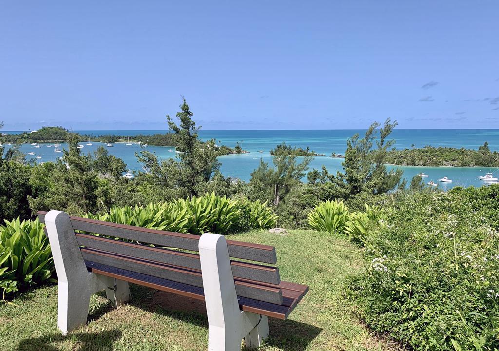 view from Scaur Park, Bermuda